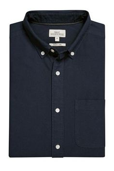 Buy Light Blue Long Sleeve Oxford Shirt from the Next UK online shop