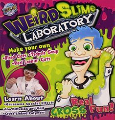 Wild Science Weird Slime Laboratory -- For more information, visit image link. (This is an affiliate link)
