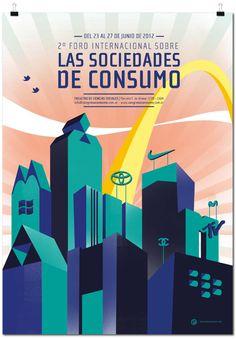 Afiches by Daniela Raskovsky.