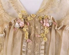 Dress (image 3 - detail) | Lucile | British | 1916-17 | silk, cotton | Metropolitan Museum of Art | Accession Number: 1978.288.1a, b