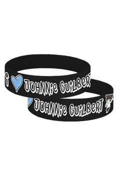 I Heart Johnnie Wristband - Johnnie Guilbert - Official Online Store on District LinesDistrict Lines