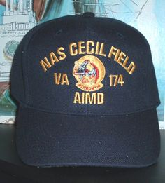 a919a67f67c0d NAS CECIL FIELD AIMD with VA-174  amp  SQUADRON CREST Military Hats
