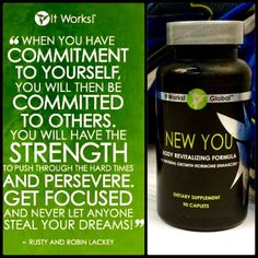 New You Strength Focus Commitment To Yourself