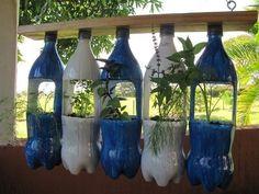 botellas de gaseosa plasticas