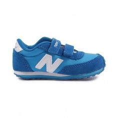 New Balance KE410 navy blue trainers Blue on shopstyle.co.uk