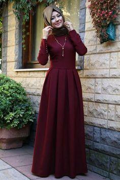 تحفه Hijab Style, Hijab Fashion, Muslim Fashion, Pink Fashion, Fashion Outfits, Modest Fashion, Hijab Dress Party, Hijab Outfit, Bridal Hijab