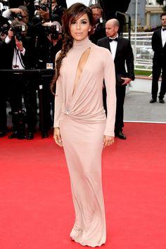 Cannes Film Festival 2014 – Foxcatcher premiere – May 19 2014  Eva Longoria in a Vionnet autumn/winter 2014 gown.