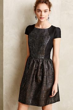Holiday Party dress option: Reyna Dress from Anthropologie