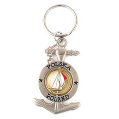 Metal keychain in the form of an anchor. Keychains, Anchor, Personalized Items, Metal, Key Hangers, Key Rings, Key Pendant, Anchors