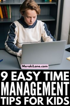 How to Teach Time Management to Kids | If your child struggles with planning, organizing, and staying on task, this post has lots of great tips and ideas to help you teach time management skills. Whether you're trying to create high level daily schedules to teach your kids independence, or you specifically need to create a homework routine so your evenings run more smoothly, these tips will improve your child's executive functioning skills so they can manage their time better! Autism Activities, Craft Activities For Kids, Educational Activities, Autism Education, Autism Classroom, Autism Behavior Management, Autism Quotes, Daily Schedules, Time Management Skills