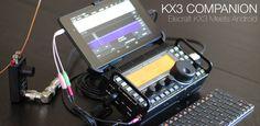 ELECRAFT KX3 MEETS ANDROID - KX3 COMPANION