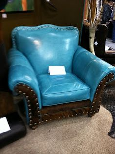 Life Be Delicious: NFR Turquoise Chair