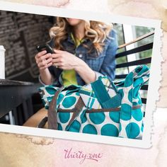 Thirty-one bag and wallet for fall 2013!