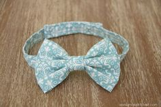 Little Boy Bowtie: the QUICK and EASY version