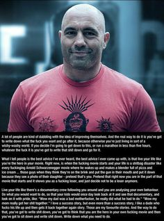 Joe Rogan - this is strangely inspiring to me