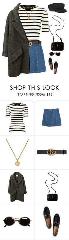 """""""you said """"i could fix the broken in your heart"""""""" by abigailshanice ❤ liked on Polyvore featuring Theory, Chanel, Gucci, Étoile Isabel Marant, Fendi and Giorgio Armani"""