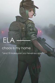 Ela by TIGER-TYPE