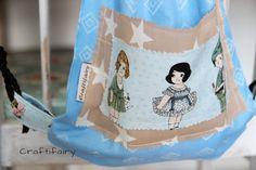 Backpack from an old pillowcase By Craftifairy