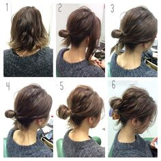 10 Updos-Tutorials zu Look Stunning trendstutor Medium Bob Hairstyles, Up Hairstyles, Pretty Hairstyles, Second Day Hairstyles, Short Hair Ponytail Hairstyles, Simple Hairstyles, Easy Hairstyle, Medium Hair Styles, Curly Hair Styles