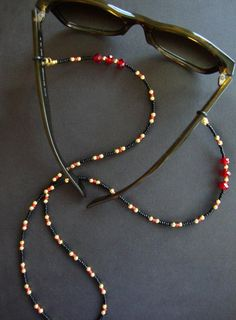 Tags: Gold, Casual, Bodychain – Best Of Likes Share Beaded Jewelry, Beaded Bracelets, Beaded Lanyards, Eyeglass Holder, Eyeglasses, Jewelery, Jewelry Making, Red Gold, Red Glass