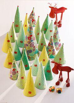 Make it Coats Noel Christmas, Christmas Crafts For Kids, Christmas Countdown, Xmas Crafts, Christmas And New Year, All Things Christmas, Christmas Decorations, Diy Advent Calendar, Countdown Calendar