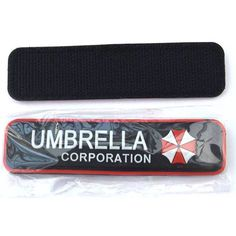 Limited Quantities Available: Resident Evil Umb...  Buy Now!: http://www.synonyco.com/products/resident-evil-umbrella-corporation-velcro-tactical-patch?utm_campaign=social_autopilot&utm_source=pin&utm_medium=pin