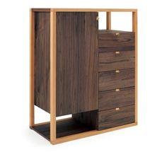 "Great Room. Niche cabinet. 35.5""w x 18""d x 45""h"