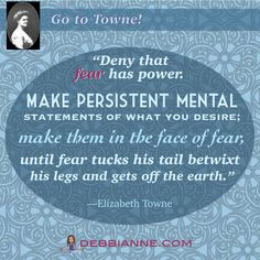 Go to Towne! Elizabeth Towne (1865-1960) was a prolific writer and influential publisher in the New Thought Movement. Empowerment | inspiration | prosperity | success | manifesting | metaphysics | law of attraction | spirituality | inspiring | self improvement | wisdom | truth | the secret | personal growth | consciousness | enlightenment | belief | self love | higher mind | inner guidance | intuition