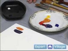 ▶ How to Paint with Acrylic Paint : Mixing Acrylic Paint Colors - YouTube 4:30