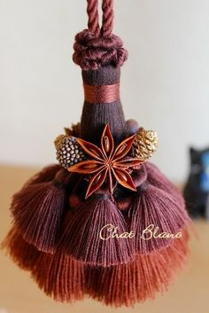 Making a Seed Bead Tassel ~ make handmade - handmade - handicraft