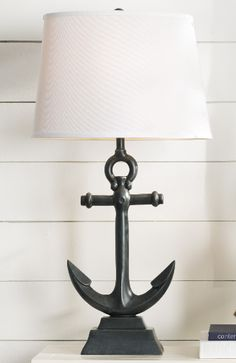 Complete List Of Nautical Lamps! Check out our list of the absolute best Nautical Lamps you can buy. We have floor and table lamps that feature anchors, ship wheels, compasses, rope, buoys, glass cages, antique elements, and other rustic nautical decor themes.
