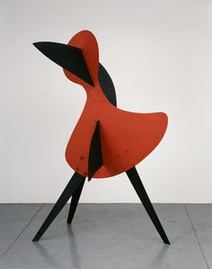 Calder - Big Bird, 1937 Sheet metal, bolts, and paint Calder Foundation, NY A01106.1