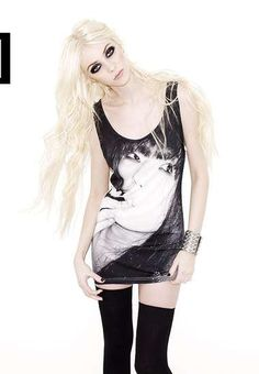 Taylor Momsen for New Look 'High Summer Idol' Collection #punk #fashion trendhunter.com