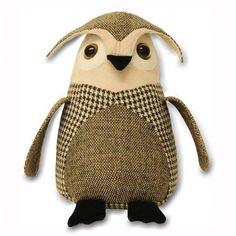 Tweed Owl Doorstop - £12 | brandinteriors.co.uk