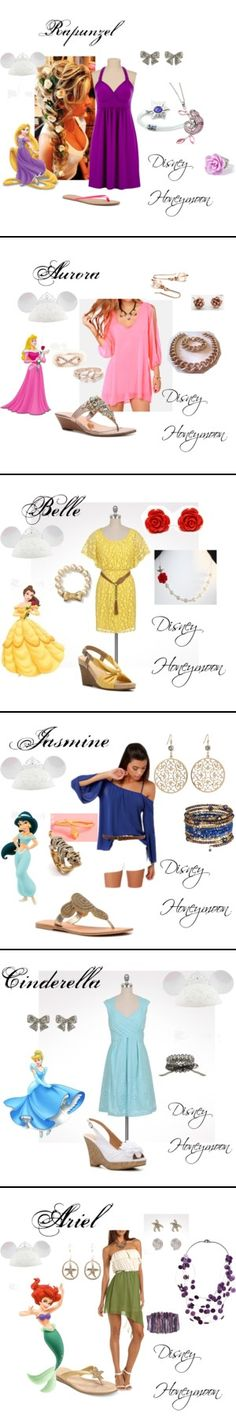 An outfit for every day of my Disney Honeymoon!  I better get to shopping!