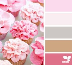 Frosted pinks