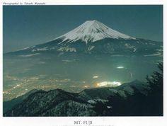 Monte Fuji, 3776 metros da montanha mais alta do Japão