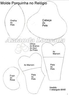 molde+porquinha+no+relogio.jpg (1163×1600)