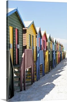 Beach Huts On Muizenburg Beach, Cape Town, South Africa Mauritius, Places To Travel, Places To Visit, Cape Town South Africa, Garden Route, African Countries, Africa Travel, Beach Trip, Photos
