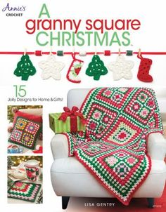 What could be merrier than combining the traditional Granny Square motif and Christmas? Designer Lisa Gentry has put together a jolly collection of designs that will make decorating and gift-giving a treat for the maker and those enjoying the results.
