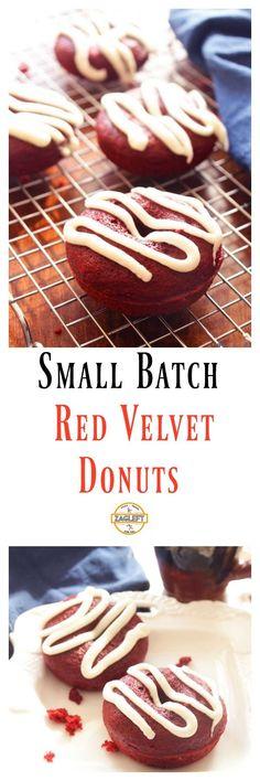 Small Batch Red Velvet Donuts \ ZagLeft