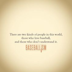Baseball: this is so true!