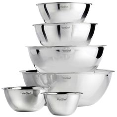 VonShef 6 Piece Mixing Bowl Set 4