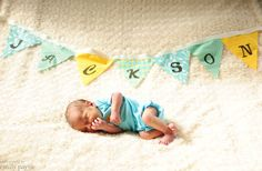 Custom Baby Name Fabric Banners for Sale