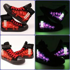 Tokyo Ghoul Glowing Shoes | Hand Painted Luminous    #Tokyo #Ghoul #Shoes #Canvas #handpainted #glowing #Luminous #merchandise    https://www.animeprinthouse.com/products/tokyo-ghoul-shoes-hand-painted-luminous-glowing-shoes