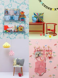 Deco   Julie Ansiau   Fun colours and ideas for kids rooms