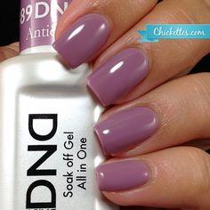 Chickettes.com Daisy Duo Gel Polish - Antique Purple #489. Head over to EsthersNC.com to shop.