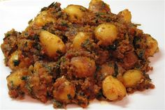 A while back I had bought these baby potatoes to make this spicy curry my mom used to make for us. I enthusiastically recreated that recipe today. If you like potatoes, you will love this curry. A...