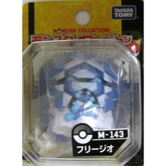 "Pokemon 2012 Cryogonal Tomy 2"" Monster Collection Plastic Figure M-143"