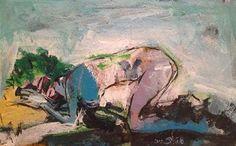 Untitled 7, 2012, Acrylic on canvas, 34x53cm